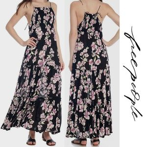 Free People Garden Party Maxi Dress XS Floral NWT